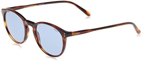 Ralph Lauren POLO 0PH4110 Gafas de sol, Stripped Havana, 50 para Hombre