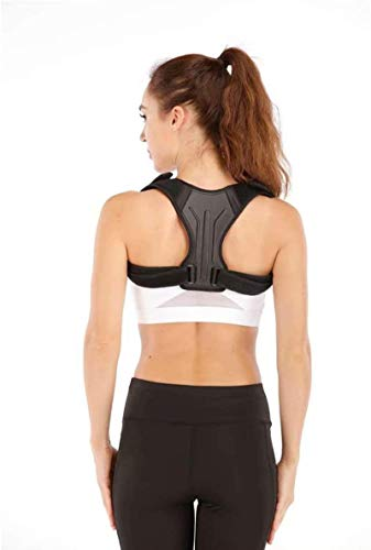 N / A Adult Posture Corrector with Adjustable Back Support Belt, to Prevent Hunchback, Relieve Pressure On The Back, Shoulders and Neck (Universal Model)
