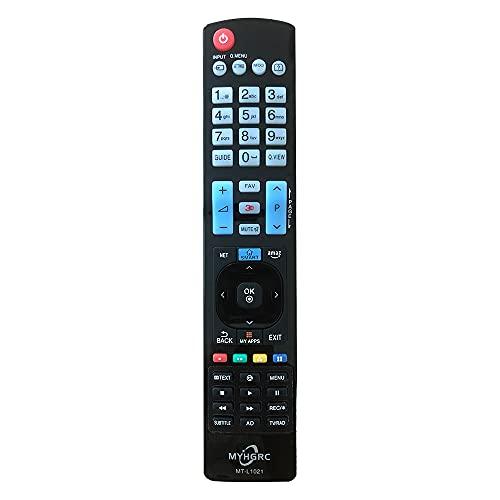 MYHGRC Nuevo Mando a Distancia LG TV Universal para Mando LG TV-No Se Requiere Configuración para LG TV Mando a Distancia Universal