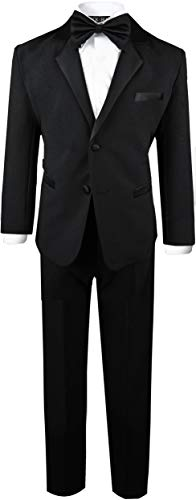 Boys Infant and Toddlers Black Tuxedo Size Small