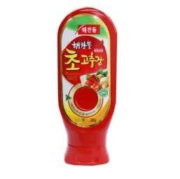 使いやすいチューブタイプ 唐辛子酢味噌(チョコチュジャン)300g ヘチャンドル