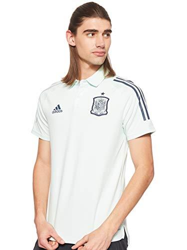 adidas Selección Española Temporada 2020/21 Polo, Unisex, Dash Green, L