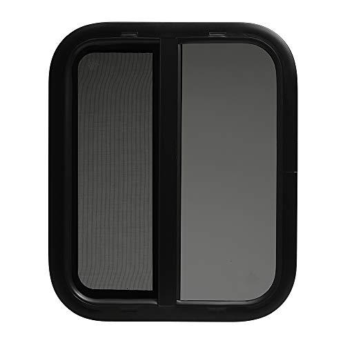 ToughGrade Horizontal Sliding Black RV Window 18
