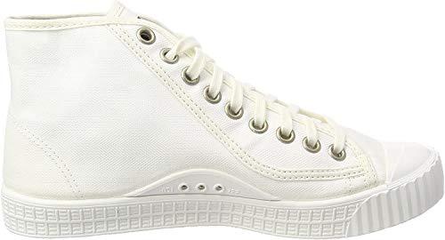 G-STAR RAW Rovulc Denim Mid buty sportowe damskie typu sneakers, biały - Weiß White White 110 110-39 EU