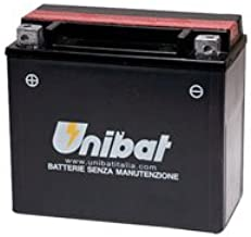 Unibat Maintenance-Free Battery with Acid 12N20AH-BS for BMW R1200C 2004