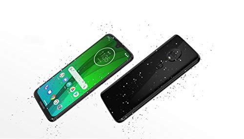 Motorola Moto G7 (64GB, 4GB RAM) Dual SIM 6.2' 4G LTE (GSM Only) Factory Unlocked Smartphone International Model XT1962-4 No Warranty (Ceramic Black)