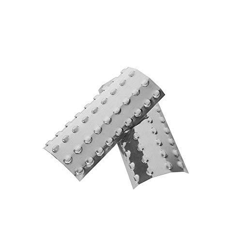 xunlei Grill BBQ 2 Teile/Los Edelstahl Abdeckung Für BBQ Grills Stahl Schild Für Küche Grill Grill Werkzeuge Churrasqueira Leicht Gesäubert