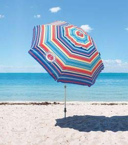 Tommy Bahama Beach Umbrella 2019 (Red Multi)