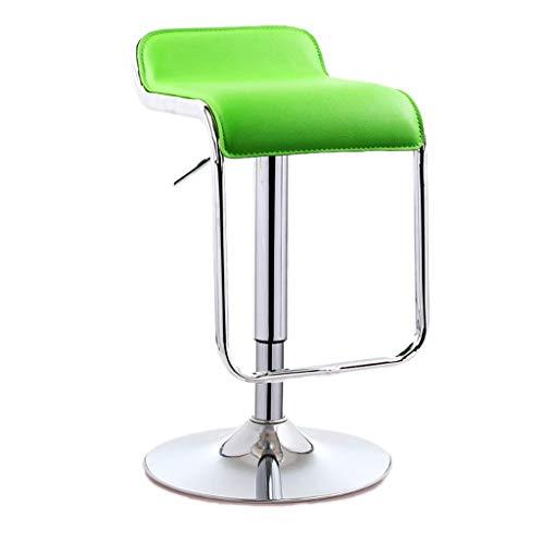 QLIGAH Sedia da barbiere, dimensioni possono essere regolate sedia girevole pulizia ristorante contatore sgabello con sedia
