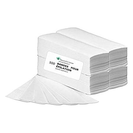 PUREWAX By Purenail- 500 bandes pour EPILATION lisses non tissées de qualité supérieure, En stock livraison rapide