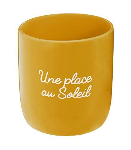 Mensaje de cerámica de olla