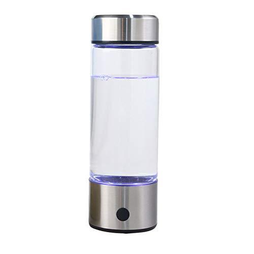 Sooiy Japanische Titanium Qualität wasserstoffreichem Wasser Cup Ionisator Hersteller/Generator Super-Antioxidantien ORP Wasserstoff-Flasche 420ml