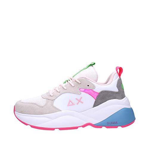 Sun68 Sneakers Donna Bianco Z31233 01