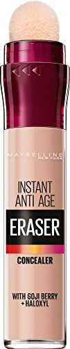 Maybelline Instant Anti Age Eraser Eye Concealer, Dark Circles and Blemish...