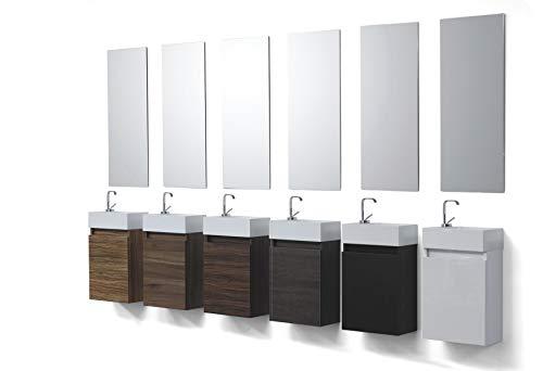 Wunderbad gastentoilet badkamermeubel wastafel met kabinet