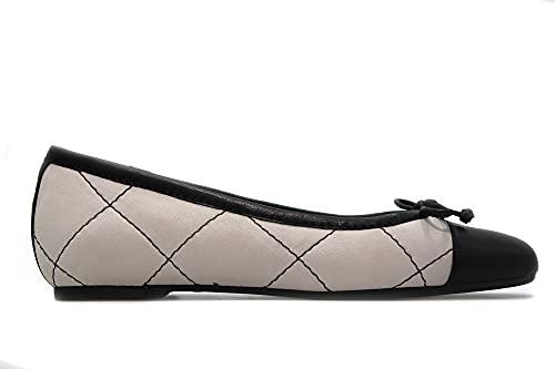 PEDRO MIRALLES - 29015 Off - Zapato manoletina de Piel, Suela de Goma, para: Mujer Color: Off Talla:40