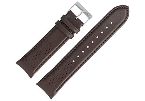 Hugo Boss Uhrenarmband 22mm Leder Braun Glatt - 659302764