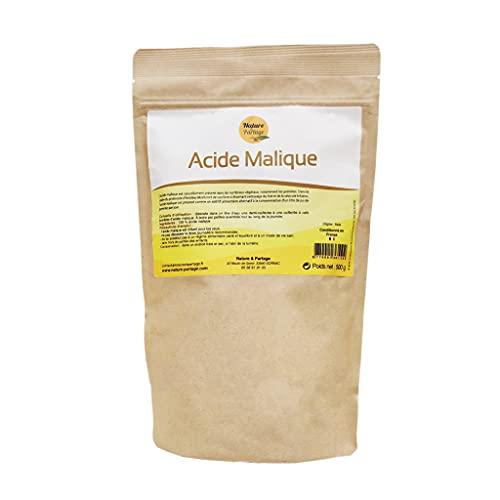 Acide malique en poudre 500g