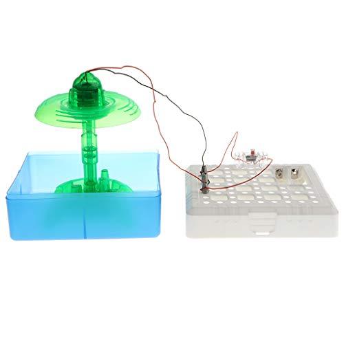 Non brand Fontana Splash Elettrico DIY Geyser per Bambini Gioco Educativo in Anticipo del Giocattolo di Esperimento