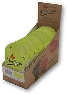 Mariposa Cristales Tilo 668 Colectiva con 10 Piezas