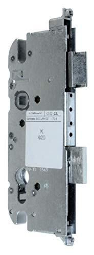 GU Secury Reparatur Schlosskasten Hauptschloss 6-33080-AD-0-1 oder auch K-20046-JO-0-1, Dornmaß: 65mm (62,5mm) / Entfernung: 72mm, incl. SN-TEC® Montagematerial & SN-TEC® Montageanleitung