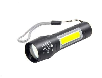 Care 4 High Quality LED Flashlight With COB Light Mini Waterproof Portable LED XPE COB Flashlight USB Rechargeable 3 Modes Pen Clip Light Flashlight With Hanging Rope (Multicolor)