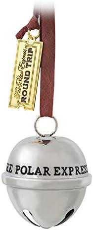 Hallmark Keepsake Christmas Ornament 2020 Year Dated The Polar Express Santa s Sleigh Bell Metal product image