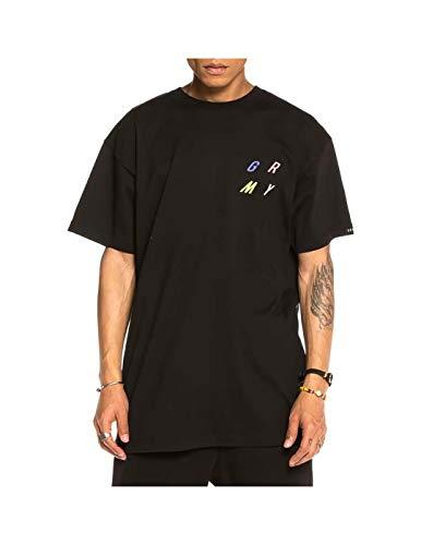 GRIMEY Camiseta Planete Noire Tee FW19 Black-S