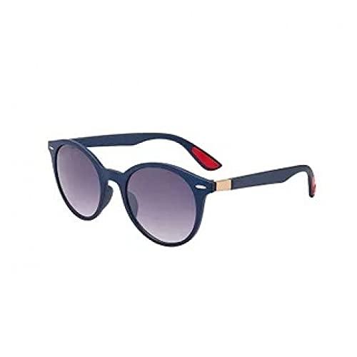KUNIUO Gafas De Sol Polarizadas para Hombre con Montura Ovalada Gafas De Sol De Pesca para Hombre Uv400 Gafas De Sol Vintage para Mujer-Purple