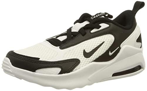 Nike Air Max Bolt (TDE), Chaussure de Marche Garçon Unisex Kinder, White/Black-White, 25 EU