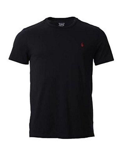 Ralph Lauren. T-shirt à manches courtes et col rond pour homme - Noir - Medium