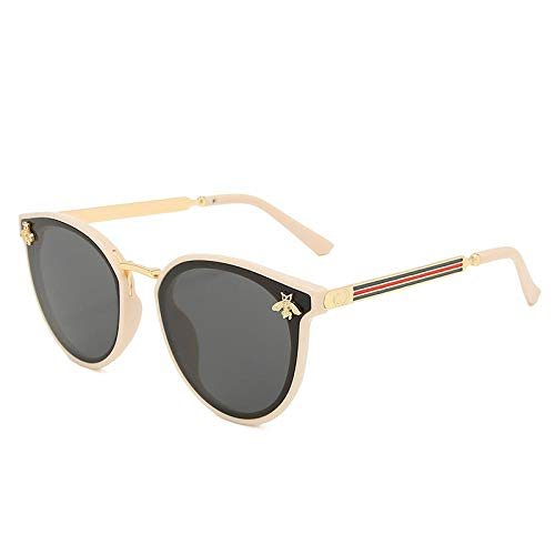 Gafas De Sol Polarizadas New Sunglasses Bee Red Green Fashion UV Sunglasses Vintage Glasses Retro Sunglasses Sunglasses Round Sunglasses C2