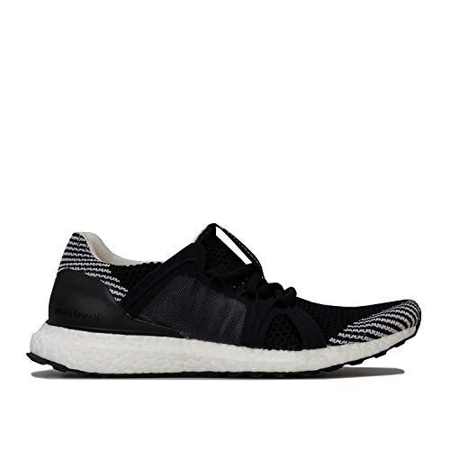 adidas Stella McCartney Ultraboost S Damen Running Trainers (UK 4 US 5.5 EU 36 2/3, Black White Granite F35901)