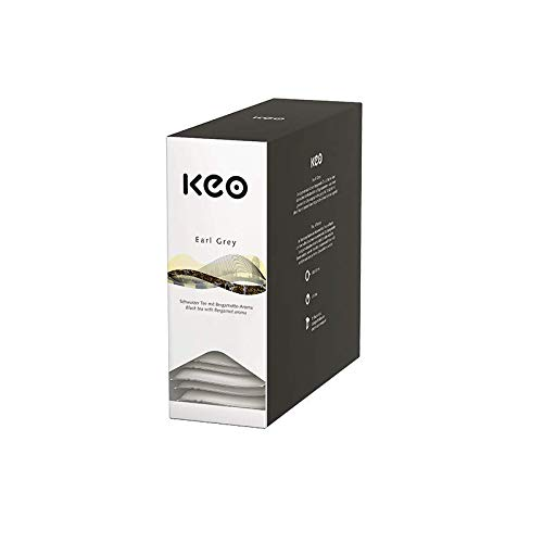 KEO Tee - Earl Grey - 15 Teachamps im Aromakuvert