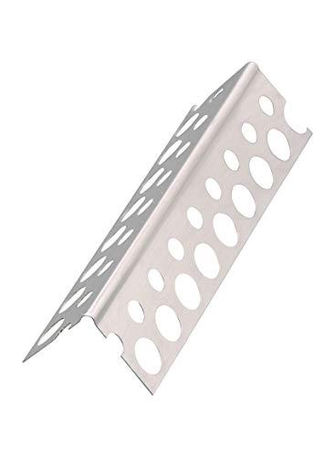 50 x Alu-Eckwinkel glatte Ausführung 250 cm = 125 m Alu-Eckwinkel glatt Trockenbau Trockenbauprofil Eckprofil Gipskarton Aluminiumprofil