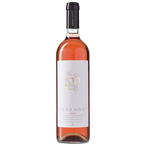 Rammstein Rosenrot - Rosé Wein (1 x 0.75 l), Offizielles Band Merchandise Fan Getränk Schnaps Alkohol Geschenk