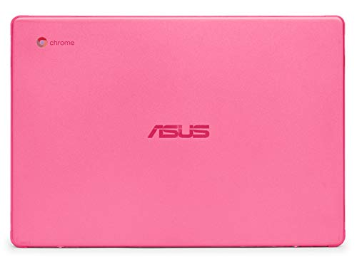 mCover Hard Shell Case for 2019 14-inch ASUS Chromebook C423NA Series Laptop (Pink)