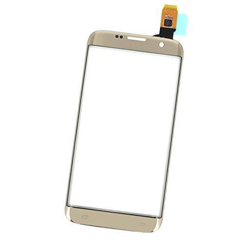 MagiDeal Sostituzione Kit di Touchscreen Display Frontale per Samsung Galaxy S7 Edge - Oro