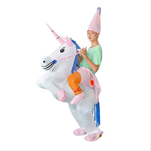 YKOUT Einhorn Aufblasbare Kostüme Karneval Prinzessin Outfit Purim Party Kostüm Halloween Kostüme Für Kinder Kind Frauen Männer Erwachsene