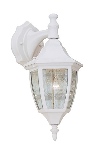 Designers Fountain 2461-WH Value Collection Wall Lanterns, White
