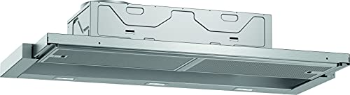 Neff D49ED22X1 Dunstabzugshaube / Flachschirmhaube N50 / 90 cm /Abluft oder Umluft / silbermetallic