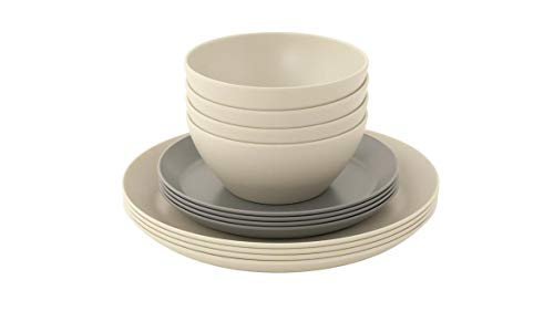 Outwell Lily 4 Person Dinner Set