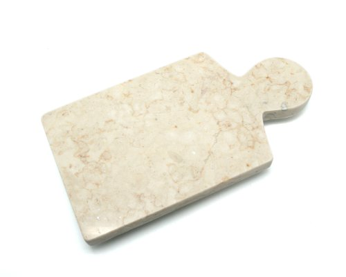 "Creative Home Byzantine-Champagne Marble 12"" x 6"" Cheese Paddle Board"