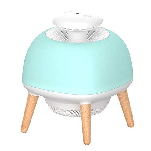 QHGao USB-muggenverjager, intelligente lichtbesturing, muggennet, muggennet, huismuggennet, led, 160 x 160 x 195 mm