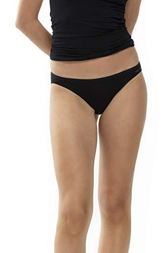 Mey Basics Serie Organic Damen Mini-Slips Schwarz 38