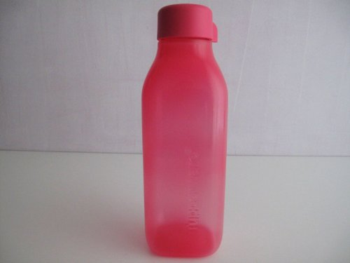 TUPPERWARE Ecobottiglia quadrati da 500 ml rosa