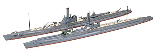 タミヤ 1/700 ウォーターラインシリーズ NO.453 日本海軍 潜水艦 伊-16&伊-58 プラモデル 31453
