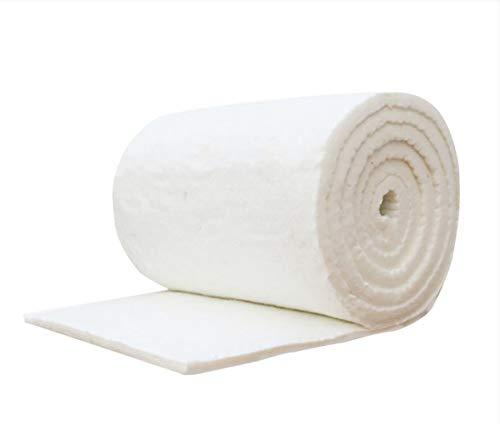 Peiyu Manta Alta Temperatura de la Caldera de Aislamiento silicato de Aluminio y Aguja de Fibra de cerámica refractaria Aislamiento de algodón ignífugo de algodón,20mm