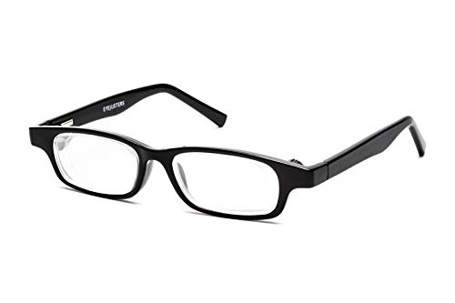 Eyejusters Self-Adjustable Glasses, Oxford Edition, Black