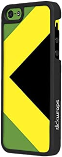 Slickwraps Flag Series the Case for iPhone 5c - Jamaica - Carrying Case - Retail Packaging - Jamaica